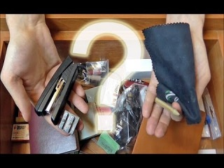 ASMR - what's in my drawer 3D binaural trigger tingle whispers ear to ear PL. Co mam w szufladzie