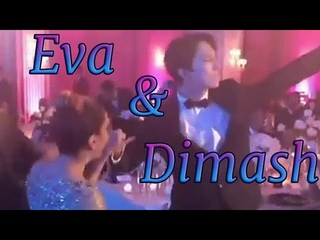 Dimash & Eva Longoria dancing (Global Gift Gala 2017) / Димаш танцует с Евой Лонгория