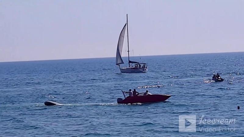 🌴ЛАЗАРЕВСКОЕ СОЧИ Пляж Гренада и репортаж из моря Жара а я такой в белой панаме