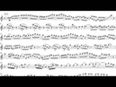 After Youve Gone - Eddie Daniels Solo Transcription (Sheet music)