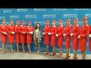 С Варенцовой на Скай Форуме Sky Forum Аэрофлот Аэромар