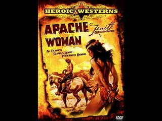 Женщина из племени Апачей.