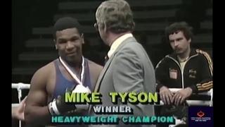 A 15-Year-Old Mike Tyson Vs Joe Cortez - Junior Olympics 1981- Amateur boxing