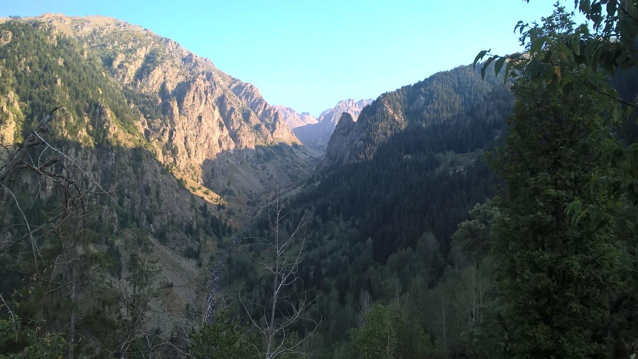 через ущелье дорога Юсуфели -Яйлалар