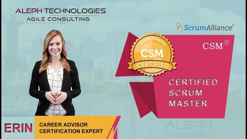 Scrum Alliance - Certified Scrum Master(CSM) 2 Day Certification Course