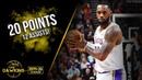 LeBron James Full Highlights 2019 12 04 Lakers vs Jazz 20 Pts 12 Asts FreeDawkins