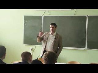Виктор Бациев, 21 апреля 2018 года, мастер-класс для студентов