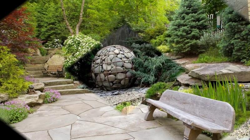 Камень в ландшафтном дизайне супер крутые идеи фото