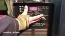 EVOSPARK TIG 315 AC/DC Pulse Настройка аппарата, сварка медь, латунь, нержавейка и др.