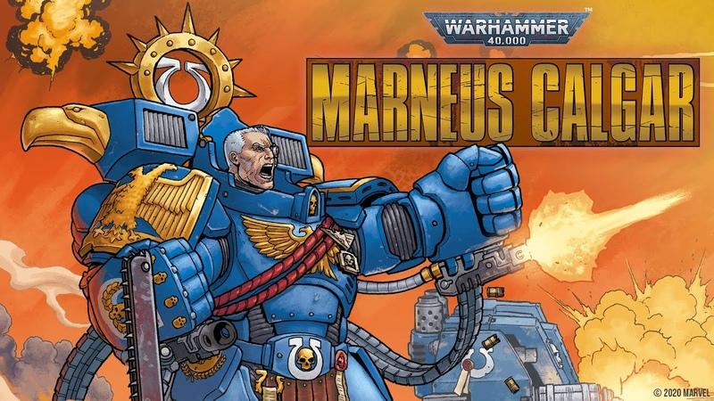 WARHAMMER 40 000 MARNEUS CALGAR 1 Trailer Marvel Comics