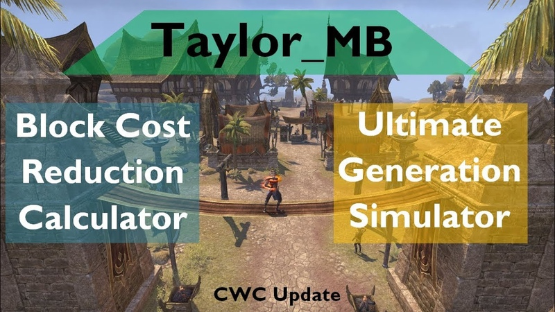 Is Decisive Trait Worth It Tay's ESO Ultimate Generation Simulator