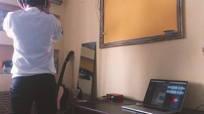 Запись песни дома (часть 2)
