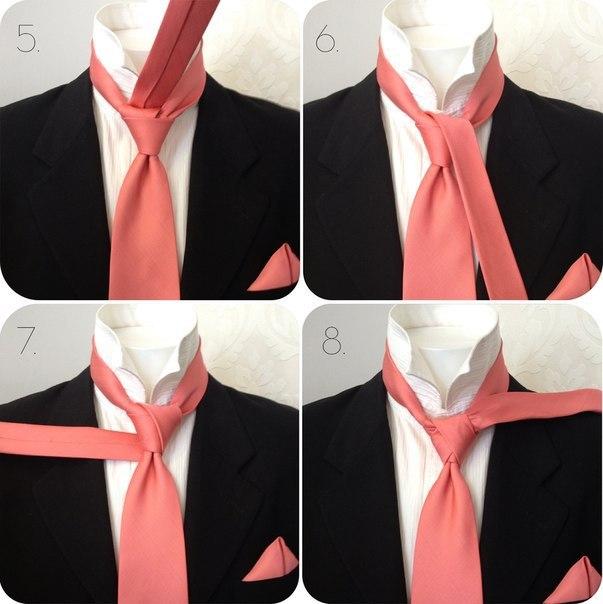 Учимся завязывать красиво галстук