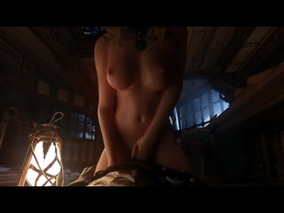 The Witcher 3 Anna Henrietta sfm porn 3d hentai