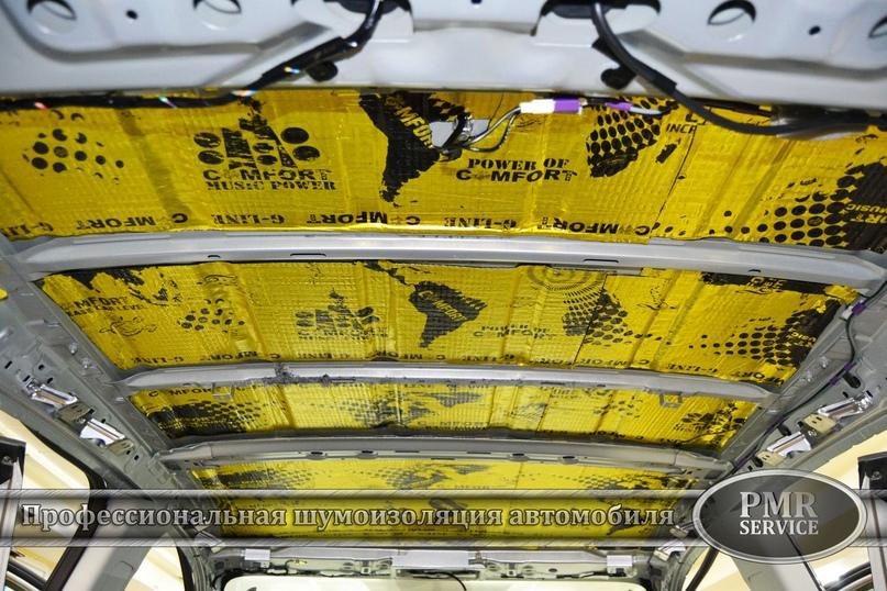 Комплексная шумоизоляция Mitsubishi ASX, изображение №6