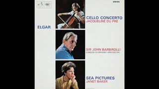 Elgar Cello Concerto / Jacqueline Du Pré /  Sir John Barbirolli, LSO (ASD 655) 1965