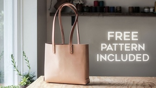 The Easy Way to Make a Leather Bag