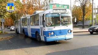 Черкасский троллейбус- ЗиУ-683Б №2021