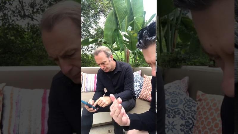 Илья Найшуллер и Боб Оденкирк Лучше звоните Солу Во все тяжкие эфир от 6 августа 2020 Часть 1
