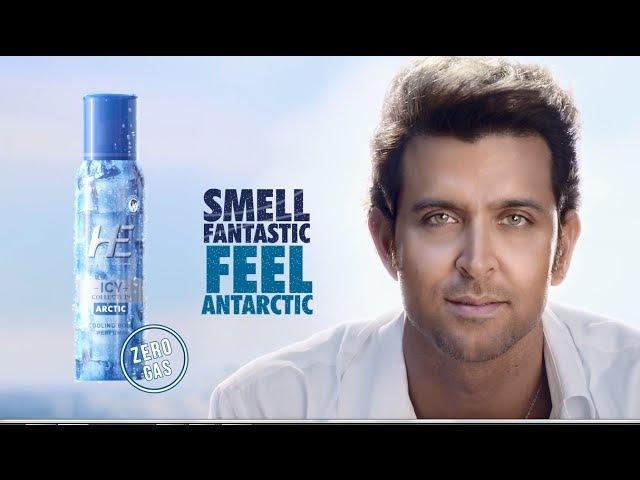 HE Deodorants Cooling Range Smell Fantastic Feel Antarctic