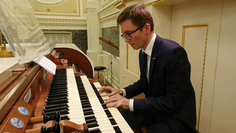 Bach s Toccata in d minor in State Academic Chapel И.С.Бах Токката ре минор