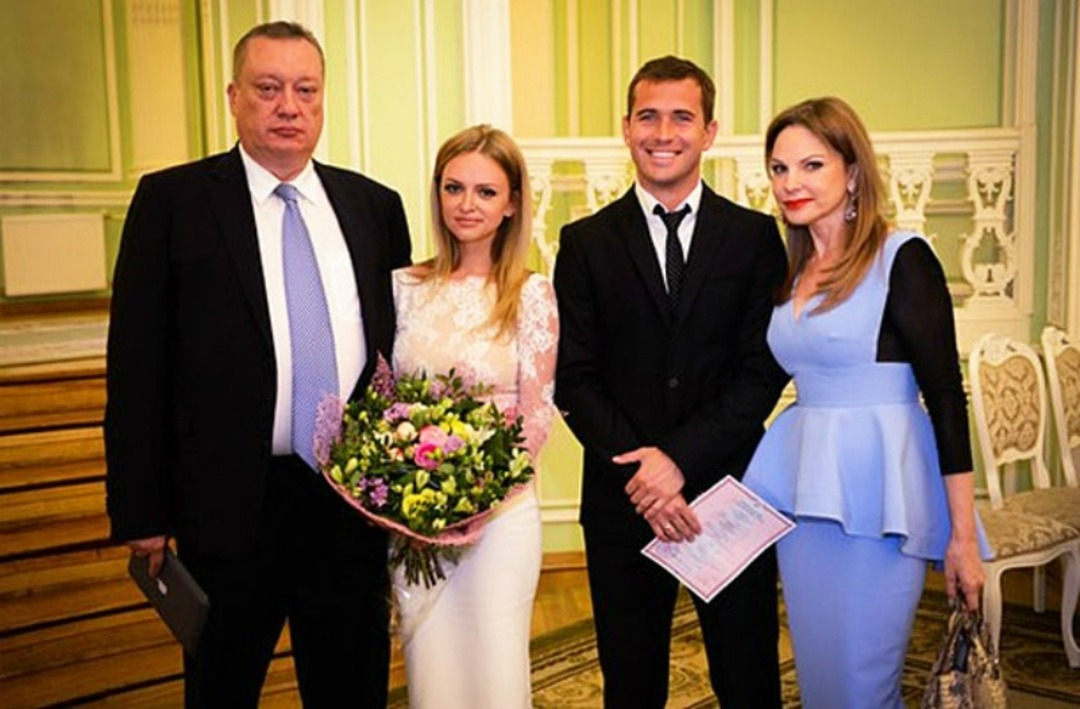 Свадьба Александра Кержакова и Миланы Тюльпановой