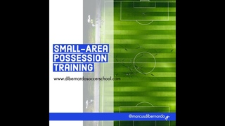 Small-Area Soccer Possession - 2v1 & 3v2 Transition & Scoring