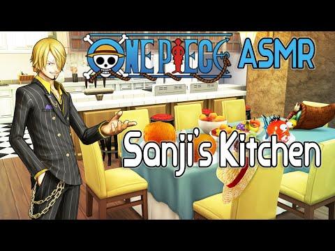 Ambience ASMR ONE PIECE Sanji's Kitchen Soundscape