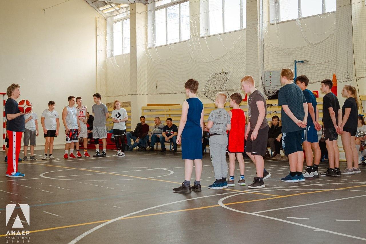 Турнир по баскетболу состоялся в культурном центре на Лермонтовском проспекте