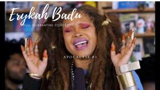 Erykah Badu Quarantine Concert Series  Apocalypse Three Full Show