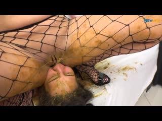 NewMFX - Shit Job - Victoria, Nicole, Saori Kido Scat Domination Lezdom Facesitting