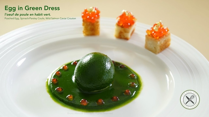 Egg in Green Dress / L'oeuf en Habit Vert – Bruno Albouze – THE REAL DEAL