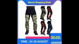 Мужские камуфляжные брюки scione, военные брюки карго с несколькими карманами, спортивные брюки в стиле хип хоп, городские