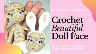 DOLL MAKING: Doll FACE (Including eyes with eyelashes) - Art Dolls Lab Vorsinkacom