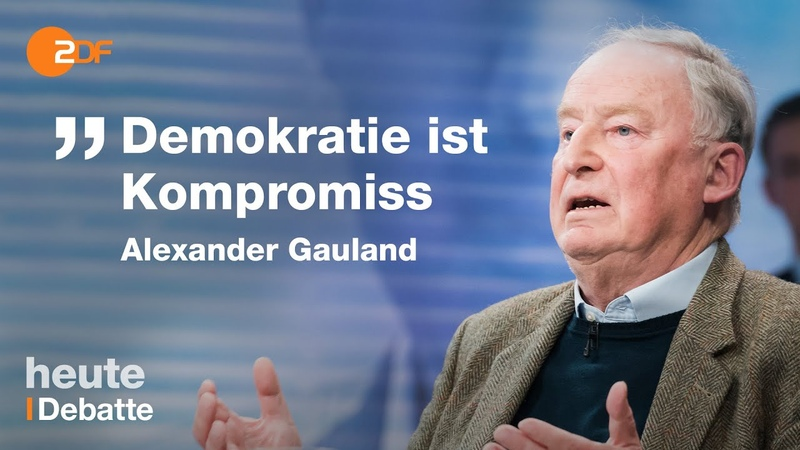 Tabubruch in Thüringen Diskussion über die Wahl von Thomas Kemmerich | maybrit illner