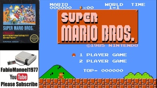 Super Mario Bros. (1985) NES  Complete Gameplay [Nostalgia] 1080p 60fps HD LongPlay Retrogame Retro