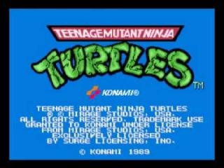 Teenage Mutant Ninja Turtles (Arcade) Music - Boss Battle