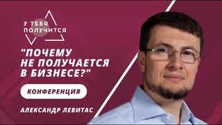 """""""Почему не получается в бизнесе?""""   Онлайн-конференция   Александр Левитас"""
