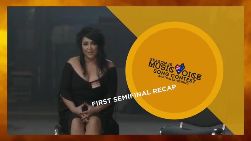 FIRST SEMIFINAL RECAP Season 15 Sydney