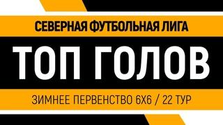 Северная Футбольная Лига | Зимнее первенство 6х6 | Топ сейвов 22 тур