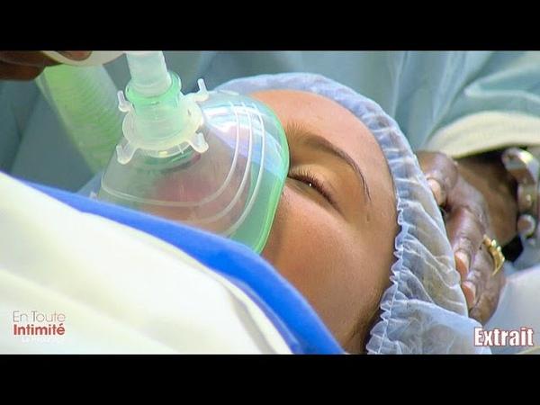 Au bloc opératoire, au moment de son anesthésie générale, Eve (La Villa 2) angoisse!
