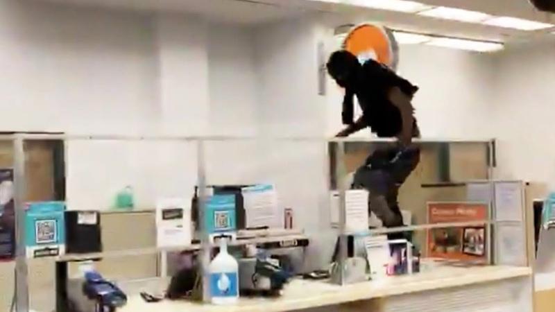 Customer Seen Jumping Over Counter to Shoplift at Walgreens