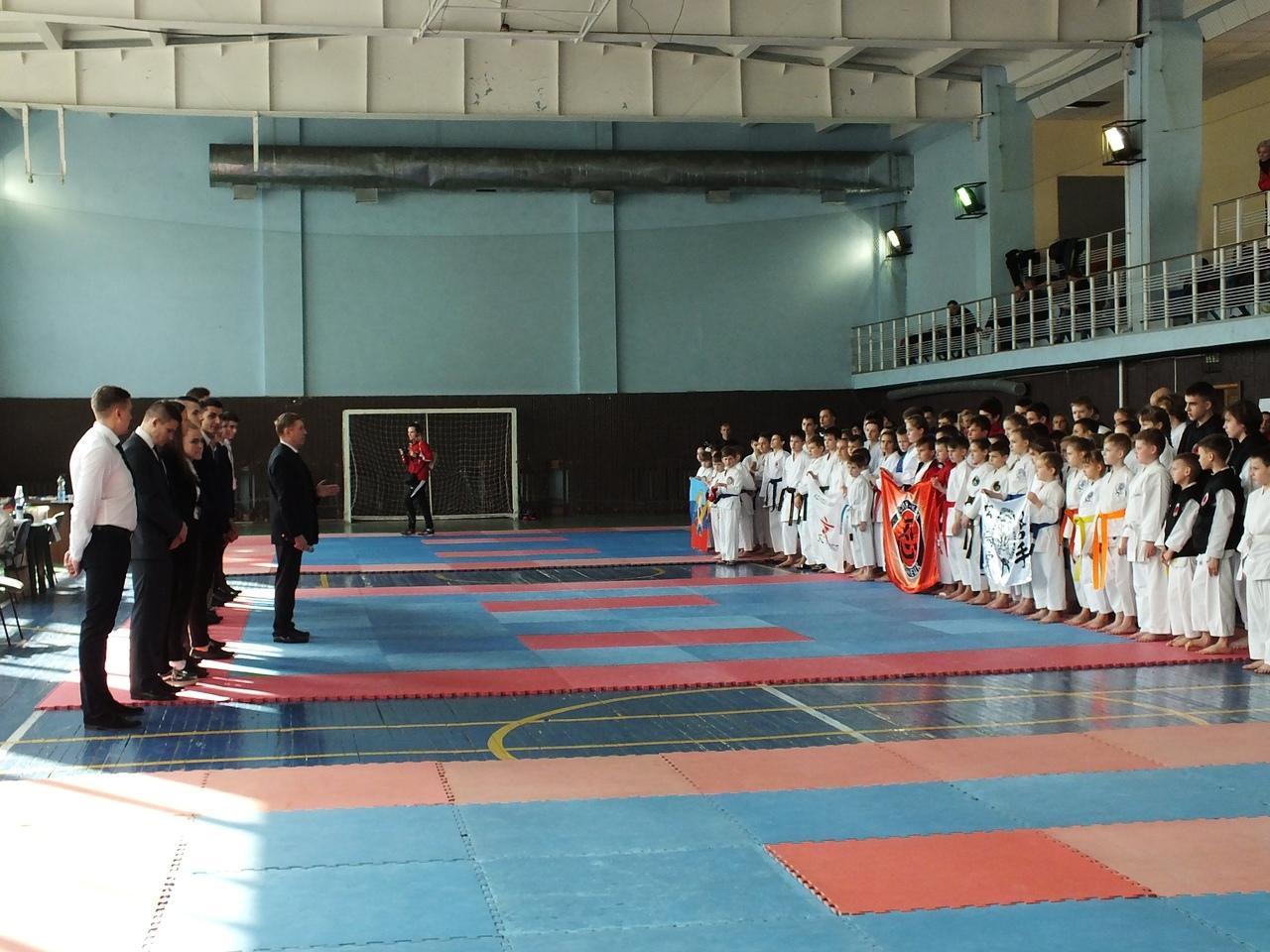В Донецке прошли соревнования по каратэ WKF