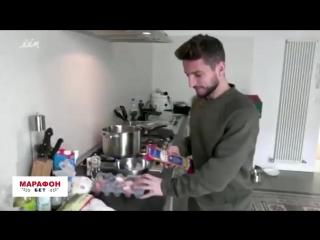 Уроки кулинарии от Мертенса - как быстро открыть пачку макарон