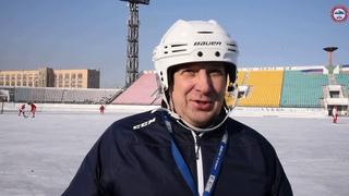 Главный тренер команды «Саяны» Евгений Ерахтин по возвращению с выездных матчей