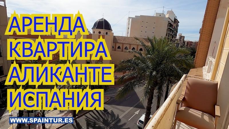 Аренда недвижимости в Испании КВАРТИРА В АЛИКАНТЕ 4 комн 3 этаж Plaza San Antonio 5