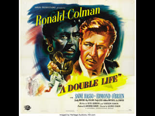 A Double Life (1947) Ronald Colman, Edmond OBrien, Signe Hasso