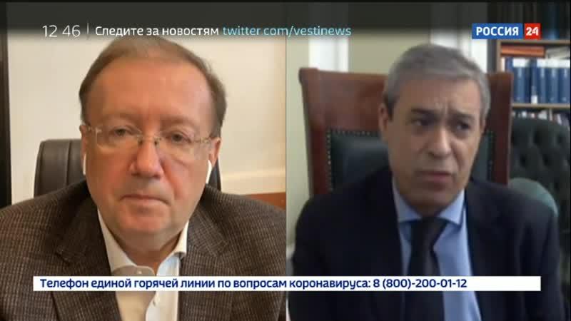 Глобальный разговор Ректор А В Яковенко и Посол Абдель Хафиз Нофаль