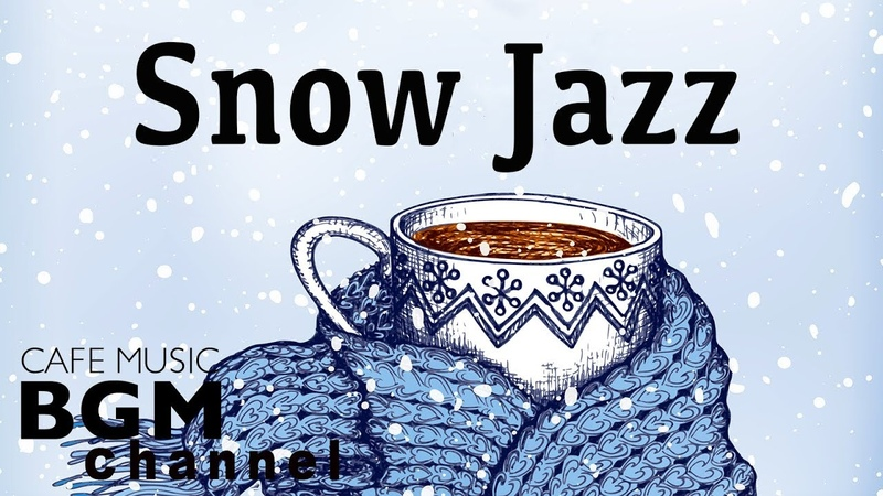 Winter Night Jazz Music Stress relief Relaxing Cafe Jazz Music For Sleep Work Study