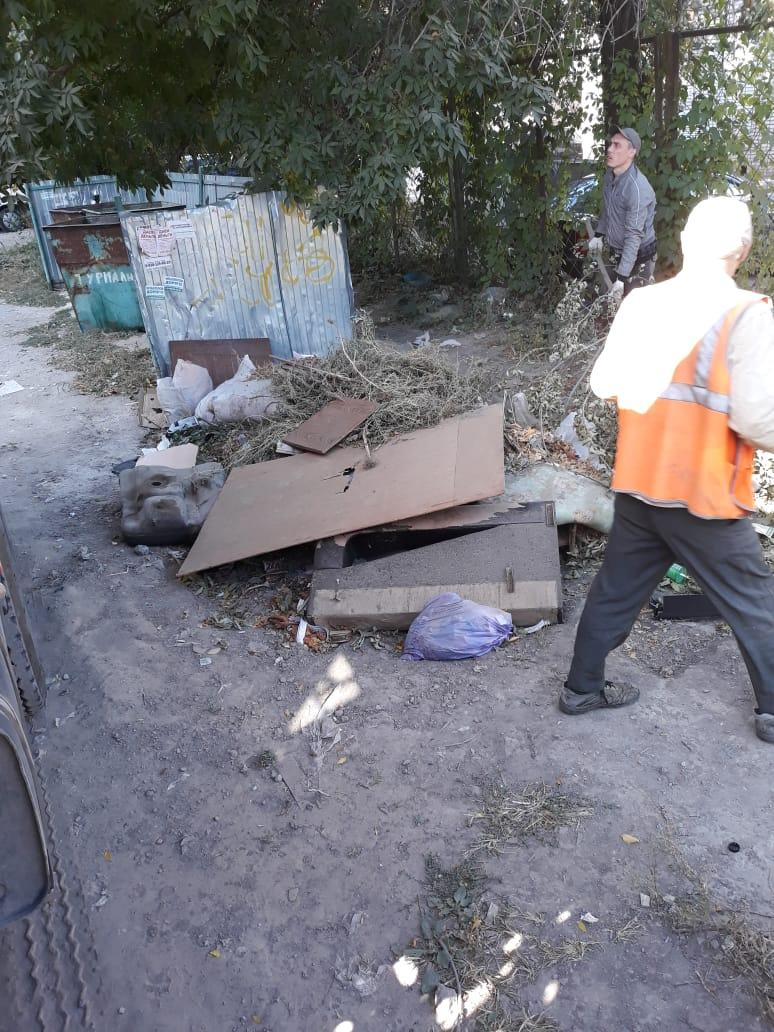 МКУ «Благоустройство» Таганрога уборку общественных пространств и покос растительности